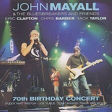 70th Birthday Concert by John Mayall/John Mayall & the Bluesbreakers (John Mayall) (CD, Nov-2003, 2 Discs, Eagle Records (USA))