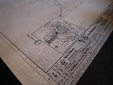 Euro Disney-land Sleeping Beauty Castle Blueprint - Bridge Plan Entry Path