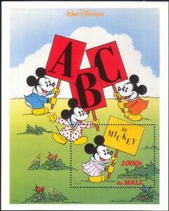 Mali 1996 Disney/Mickey Mouse/ABC/Alphabet/Cartoons/Animation 1v m/s (ad1069)
