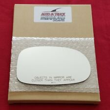 Mirror Glass + Adhesive For 00-03 Nissan Maxima Passenger Side Replacement