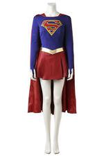 Supergirl Kara Zor-El Danvers Fancy Dress Outfits Cosplay Costume Halloween