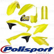 Polisport Plastics Box Kit For Kawasaki KX 450F KXF 450 Flo Yellow 2016-2018