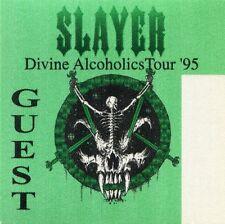 SLAYER 1995 Divine Intervention Tour Backstage Pass!!! concert stage #2