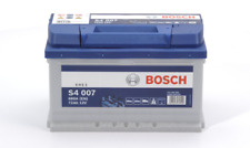 HEAVY DUTY BOSCH CAR BATTERY FOR JAGUAR S4007