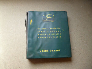 John Deere Tractors 310,510, 710 Original Workshop Manual 1964