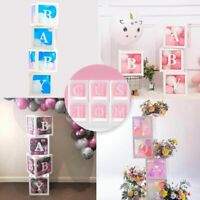 Baby Transparent Box Storage Balloon Baby Shower Decorations 1st Birthday Party