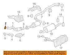 HONDA OEM Exhaust-Converter & Pipe Gasket 18229TF0013