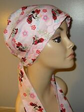 Chemo Hat,Turban Minnie Mouse Alopecia Scarf, Cancer Hat, Womens Head Wrap