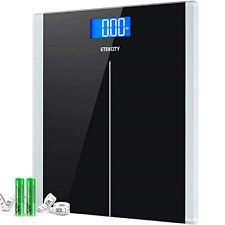 Digital Body Weight Bathroom Scale With Step-On Technology, 400 Lb, Body Tape.