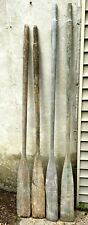 Vintage Lot of 4 Boat Oars
