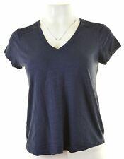 BANANA REPUBLIC Womens T-Shirt Top Size 10 Small Blue Cotton  ND30