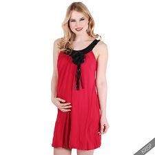 Krisp Womens Fancy Dress Sleeveless Tunic Top Boho Retro 1920s Style Party Mini 14 Red