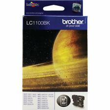 Brother LC1100BK Genuine/Original Ink Cartridges MFC-490CW/790CW/795CW/990CW New