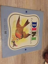 livre ancien rare contes enfant jeunesse «diki le rouge-gorge enchanté» 1943