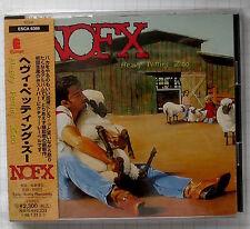 NOFX – Heavy Petting Zoo JAPAN CD OBI RAR! ESCA-6386