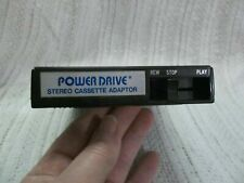 Recoton Power Drive 8 Track To Stereo Cassette Adaptor Cs112A (untested)