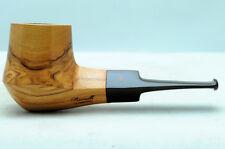 Brand new olive wood pipe PARONELLI bulldog handmade