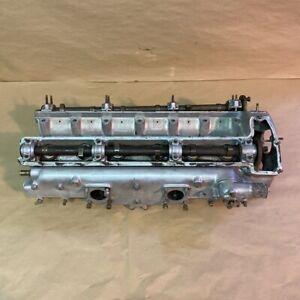 Original Early Jaguar XK120 Cylinder Head w Intake and Cams W5319-8 C6733 OEM
