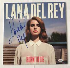 Lana Del Ray Signed Born To Die LP Album PSA/DNA COA #AD64271 Autograph Vinyl
