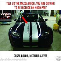 without AIR VENT Corvette Dual Rally Stripes C4 C5 C6  ZO6 ZR1 Fits 2013 down