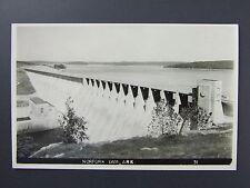 Norfork Dam Mountain Home Arkansas Ar Real Photo Postcard Rppc 1940's
