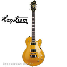 HAGSTROM HSSWEGOT SWEDE ELECTRIC GUITAR IN GOLD GLOSS FINISH - BRAND NEW