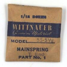 New Old Stock Wittnauer 5S-5W Mainspring Watch Part #1