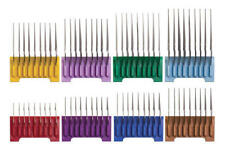 """Wahl 5 in 1 Stainless Steel Attachment Guide Comb Kit Set of 8 Combs (1/8"""" to1"""")"""