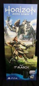 Horizon Zero Dawn Cardboard Retail Display Stand Standee NOT A GAME - UK Seller