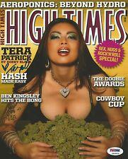 Tera Patrick Signed 8x10 Photo PSA/DNA COA High Times Magazine Picture Autograph