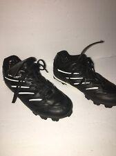 Dunlop Sports B150L-Size 2 Unisex-Black/White-Soccer /Baseball/Football Cleats