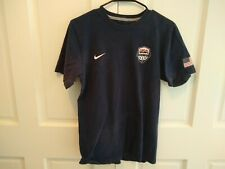 Nike Team USA Basketball Hoops For Troops Men's Blue T-Shirt Size S Small