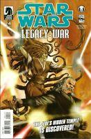 STAR WARS LEGACY WAR #4   DARK HORSE COMICS / MAR 2011 / N/M / 1ST PRINT