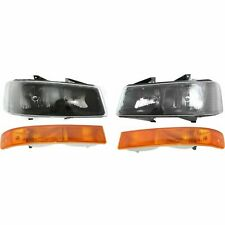 FITS FOR EXPRESS / SAVANNA 2003 - 2019 HEADLIGHT & SIGNAL RIGHT & LEFT SET