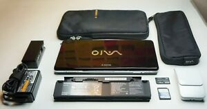 Sony Vaio P Black (VGN-P39VRL) + Double Battery + Mouse + LAN!