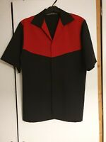 Elvis Presley Very Rare Vintage Rockabilly style Black & Red shirt size S/M