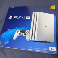 Sony PlayStation 4 PS4 Pro Game Console Glacier White HDD 1TB from Japan NEW