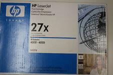 Toner Original HP Black 27X  C4127X