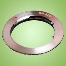 Olympus OM Lens fits Canon EOS mount adapter ring for 5D, 6D, 7D, 77D, 80D, 90D