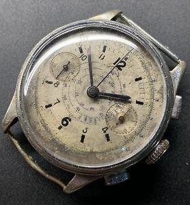 1940s Sonia Chronograph Landeron 39 Working