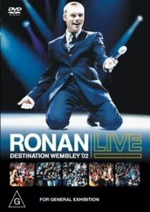 Ronan Live - Destination Wembley (DVD, 2002)