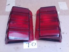 1981 1987 1990 FORD ESCORT WAGON RIGHT LEFT TAIL BRAKE LIGHT LAMP PAIR SET RH LH