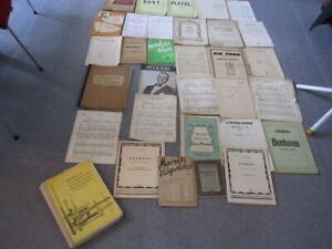 Noten-Konvolut-Paket-Sammlung-Klavier-Violine-4,6 KG-31 Exemplare-GRATISZUGABE