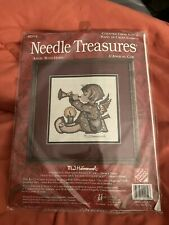 "Needle Treasures M J Hummel ""Angel with Horn"" Counted Cross Stitch Kit # 02954"