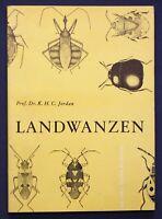 Jordan Landwanzen 1962 Naturwissenschaften Schädlinge Tiere Wissen Studium sf