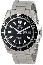 ORIENT MAKO XL 45mm Reloj Hombre Automático Día + fecha negro fem75001bw Correa