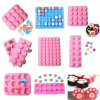 Alphabet Star Silicone Cake Decorating Mould Candy Cookies Chocolate Baking Mold