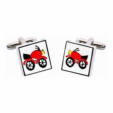 Gemelli Moto Rosso da Sonia Spencer, articoli da regalo in scatola. Motocicletta, prezzo consigliato £ 20