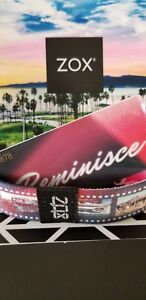 Zox Strap REMINISCE by Amber Dale, Silver! CARD INCLUDED!