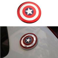 12 Sticker captain america car motorcycle helmet decal  biker leptop wall guitar